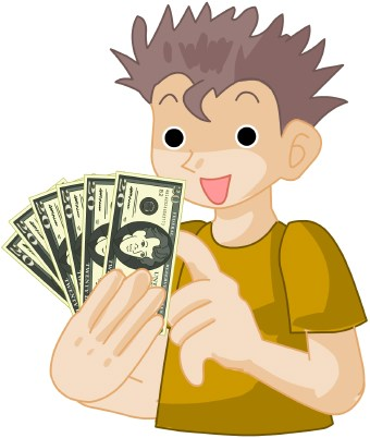Cash clipart spending money Story Last money is like