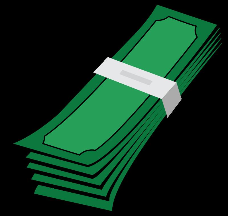 Cash clipart stack money Money Clip Clip Domain 2