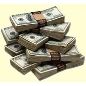 Cash clipart stack money Jpg File Stacks Money Polyvore