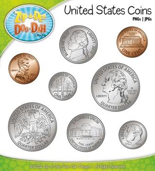 Coin clipart american coin Clipart Dah {Zip Currency {Zip