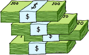 Cash clipart transparent Money art 4 ClipartAndScrap Money