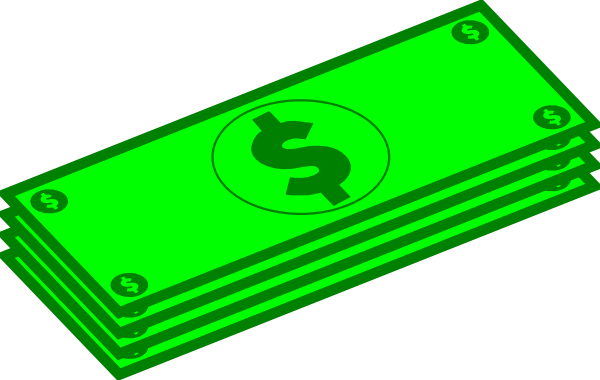 Cash clipart transparent Money art free 5 Money
