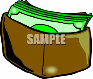 Cash clipart wad cash Wallet In Cash In Clipart