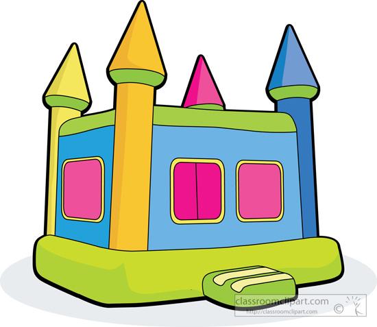 Hosue clipart hause Black Bouncy Clipart Bounce Boy