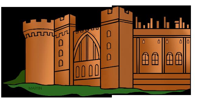 Brown clipart castle World Martin Art Clip Castle