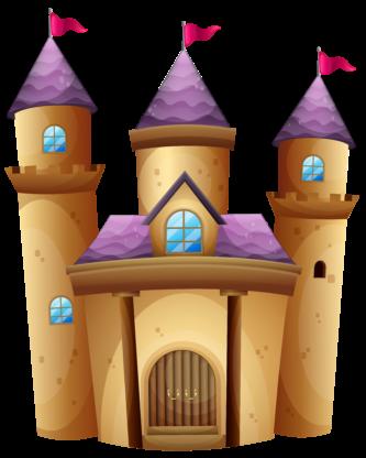 Brown clipart castle Castle Clipart Castle Brown ClipartPen