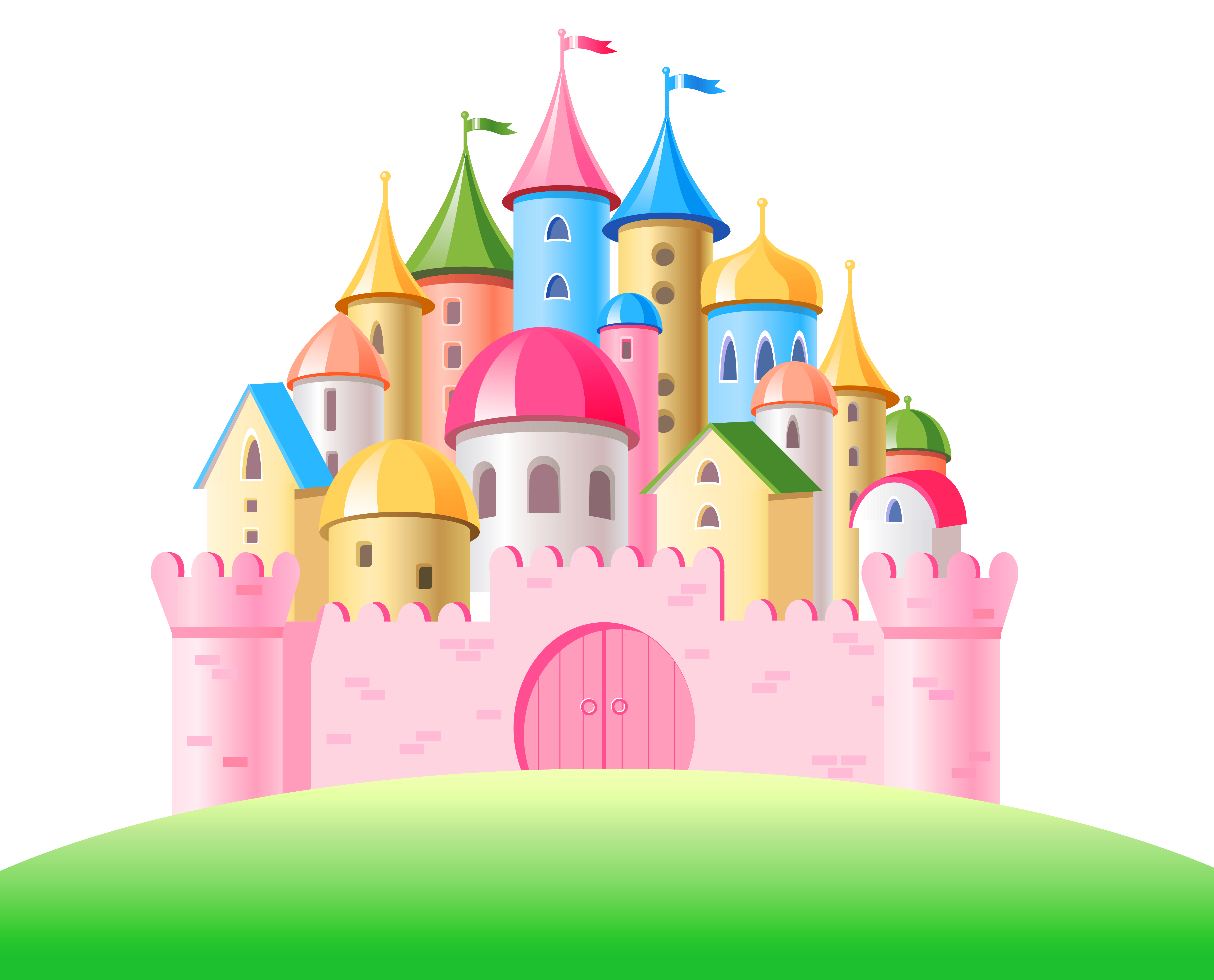 Castle clipart colorful Castle Clipart full View Yopriceville