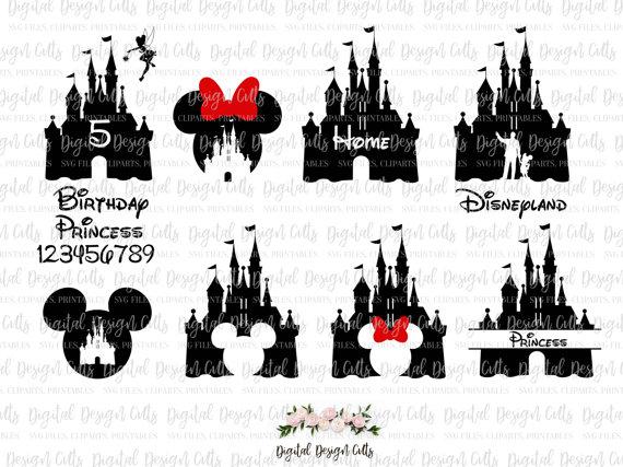 Disneyland clipart disney castle Castle Mikki and Disney Castle
