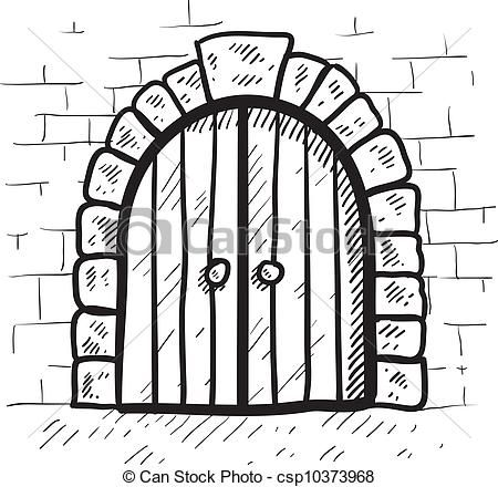 Doorway clipart castle 36 clip Castle Signs stock