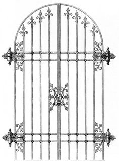 Castle clipart doorway Until wrought design Máquinas then