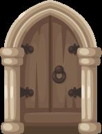 Castle clipart doorway Middle Ages Clipart Door png