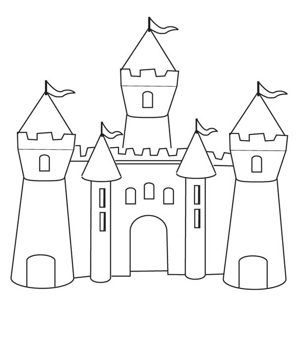 Drawn castle easy #4