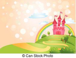 Castle clipart landscape EPS Fairy Stock 2 leading