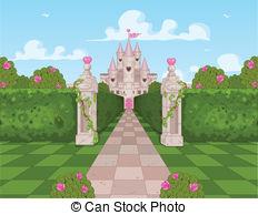 Castle clipart landscape  clip images Stock Castle