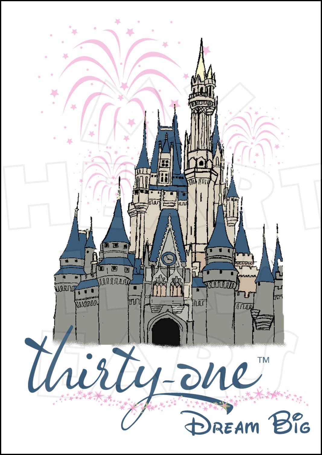 Castle clipart magic kingdom My Thirty Big Magic World