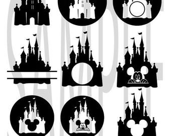 Castle clipart magic kingdom Disney Princess svg Princess Disney