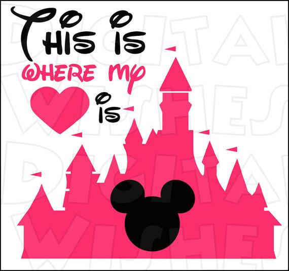 Castle clipart magic kingdom Transfer Magic Disney with with