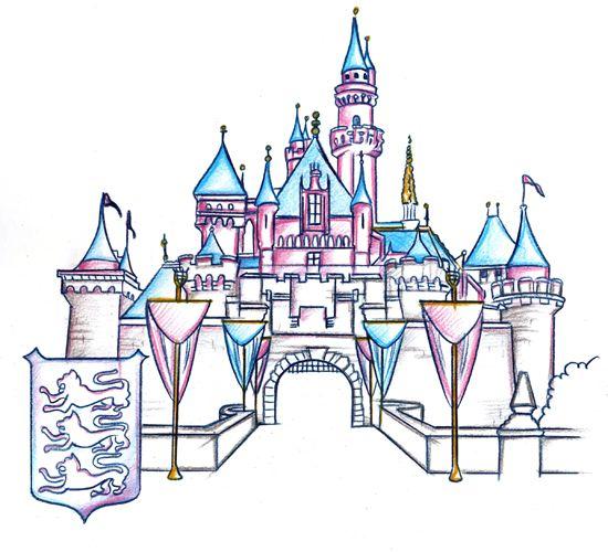 Disneyland clipart disney castle Beauty Pinterest on New Clip