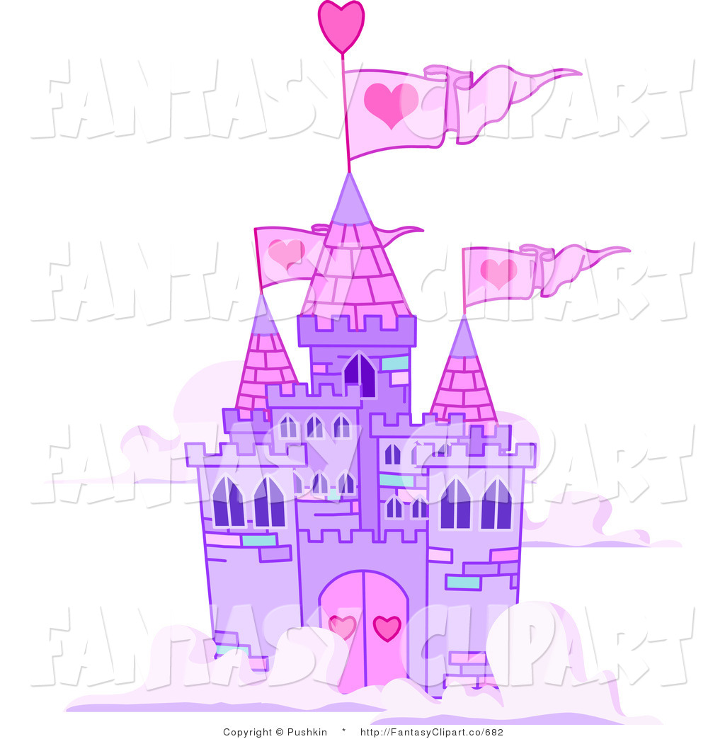 Castle clipart pink purple Castle the Clip Castle Download