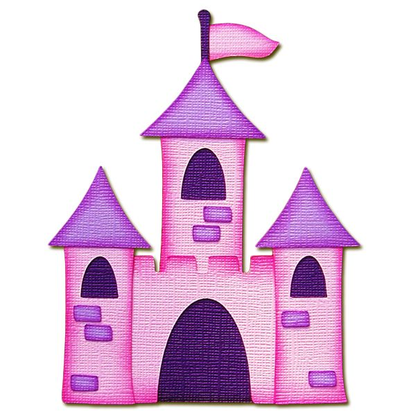 Castle clipart pink purple Pink by on Scrap pieced