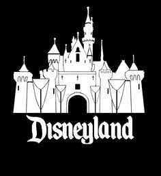 Disneyland clipart sleeping beauty castle Clip Decal castle WibblyWobblyThings art