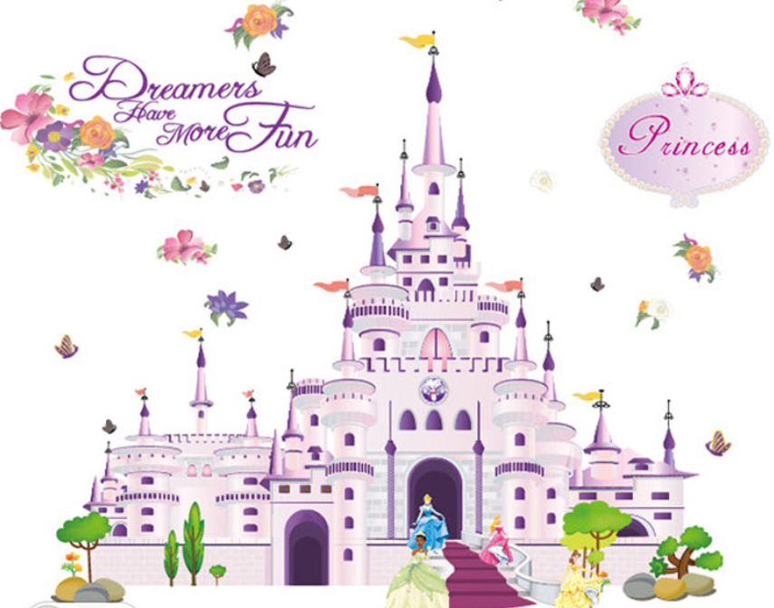 Castle clipart snow white Aliexpress Bedroom com White Wall