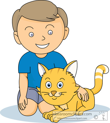 Cat clipart boy Type 597; Clipart And Downloads
