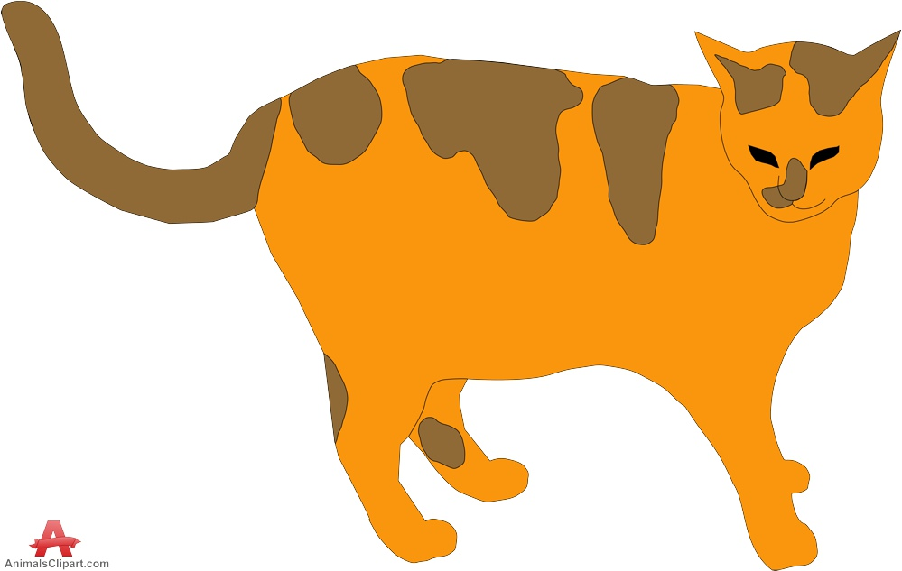 Cat clipart brown Clipart and Download Orange Clipart