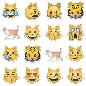 Cat clipart emoji Emoji cat Stickers despre Emojis