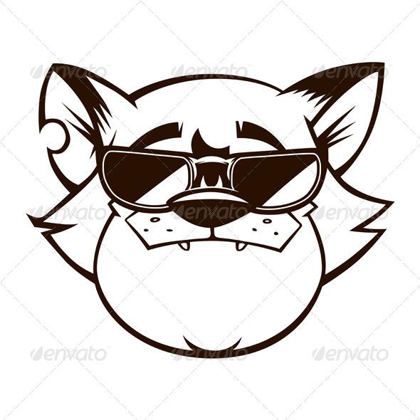 Cat clipart gangster Face Cat fun Gangster Gangster