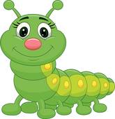 Caterpillar clipart #4