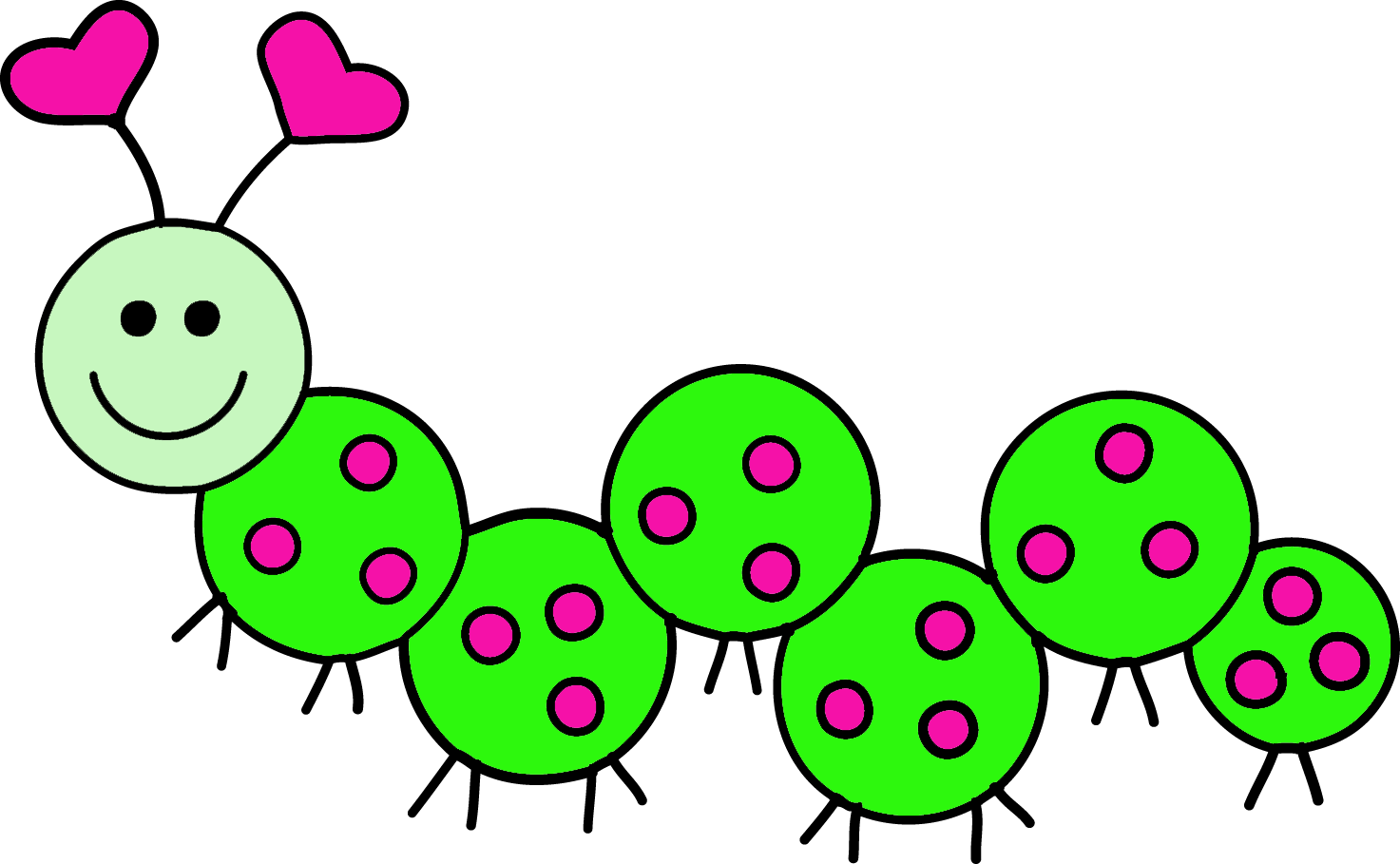 Caterpillar clipart #8