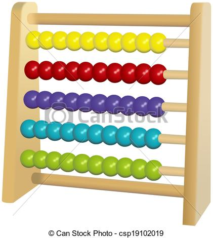 Caterpillar clipart abacus Toy or abacus colored Wooden