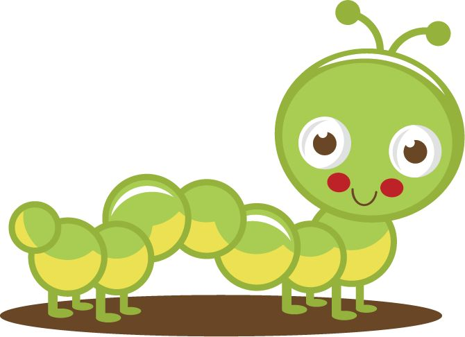 Caterpillar clipart baby animal Animales best Stickers on Pin