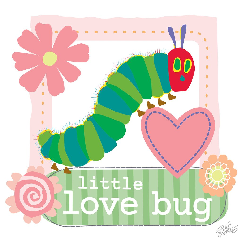 Caterpillar clipart love bug Love Bug carle Products Little