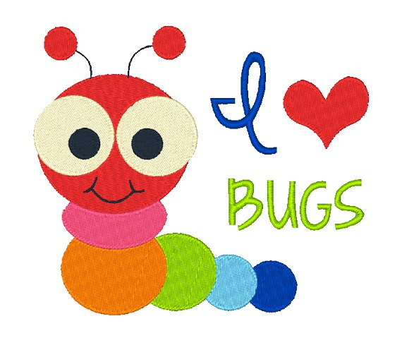 Caterpillar clipart love bug Instant 8X8 Studio Caterpillar love