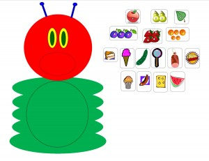 Caterpillar clipart printable #13