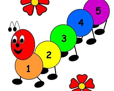 Caterpillar clipart school math Math Centers with Caterpillar Hop