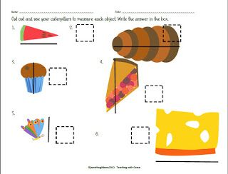 Caterpillar clipart school math Unit Work 27 Giveaway final