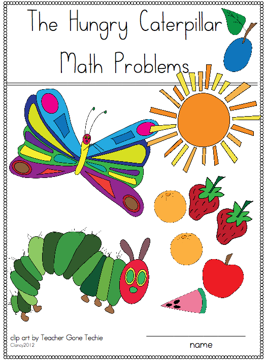 Caterpillar clipart school math Caterpillar Book In Joyful Hungry