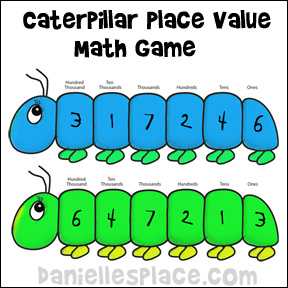 Caterpillar clipart school math And Game daniellesplace from caterpillar