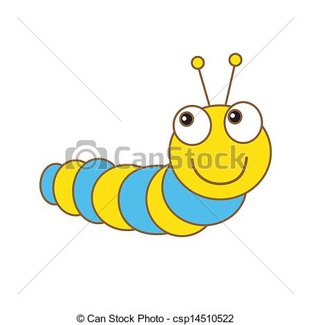 Caterpillar clipart spring #10