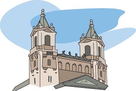 Cathedral clipart Cathedral : Clipart cathedral heart