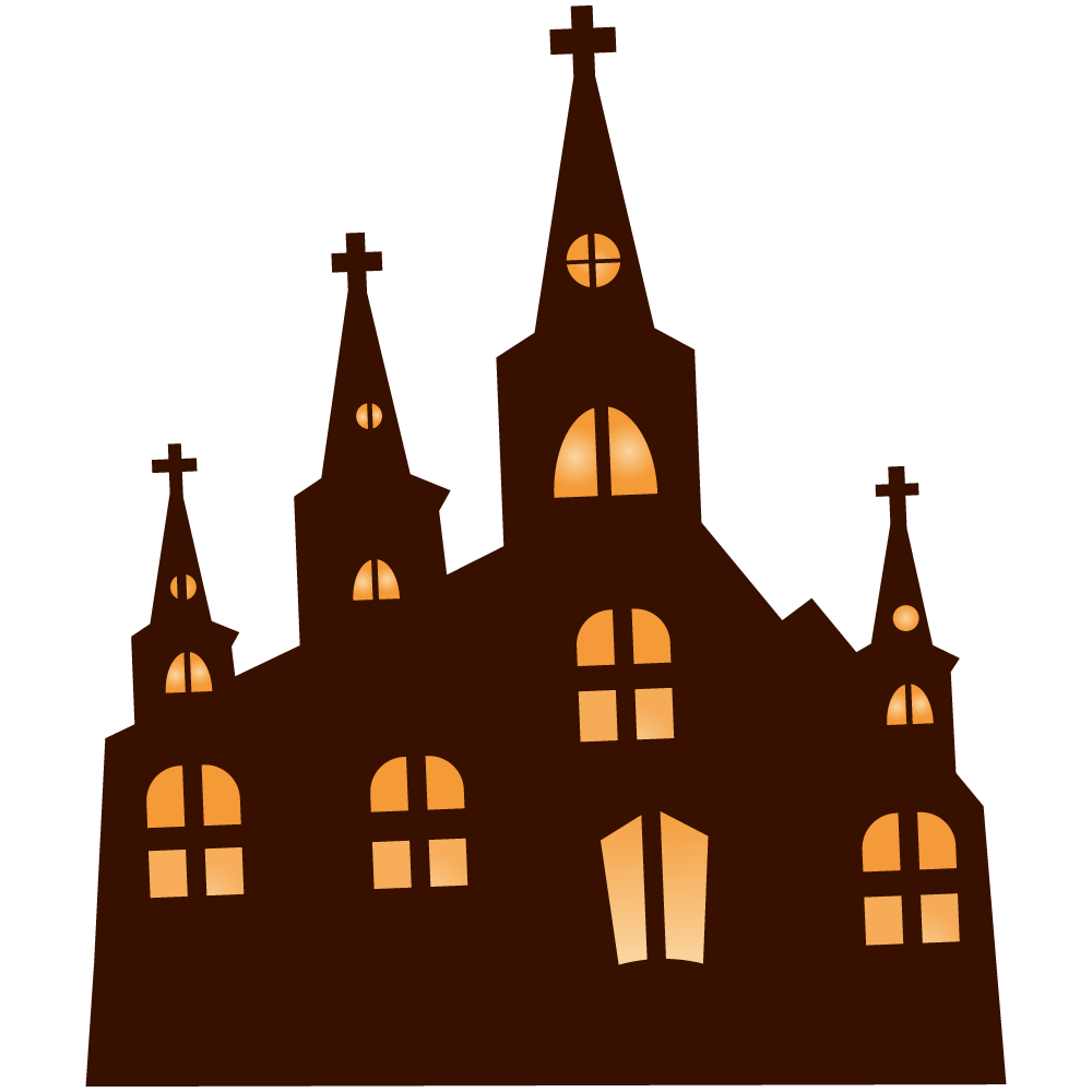 Cathedral clipart  Haunted Clip Art Cathedral