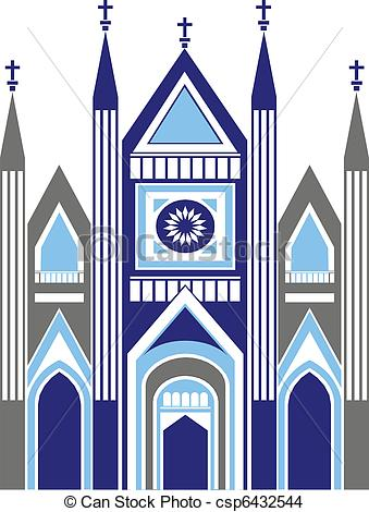 Chapel clipart church attendance Vector Stock Cathedral Illustrations Cathedral
