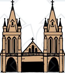 Cathedral clipart  Clipart Cathedral