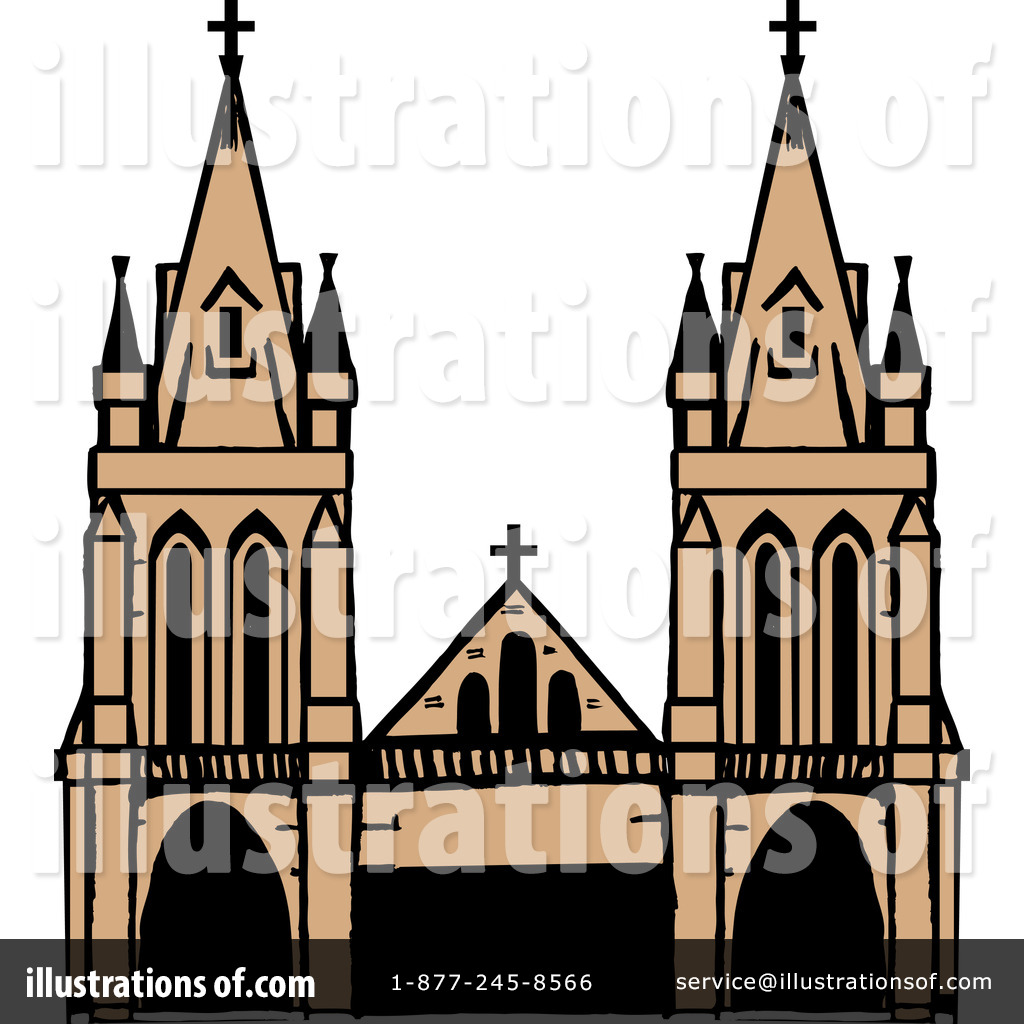 Cathedral clipart Royalty by Dennis Illustration Holmes