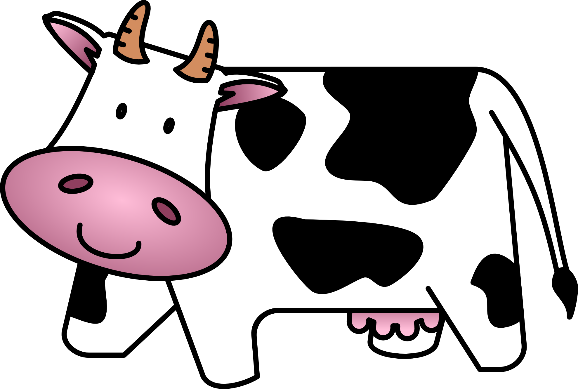 Other clipart cow Cow Free com Cow Art