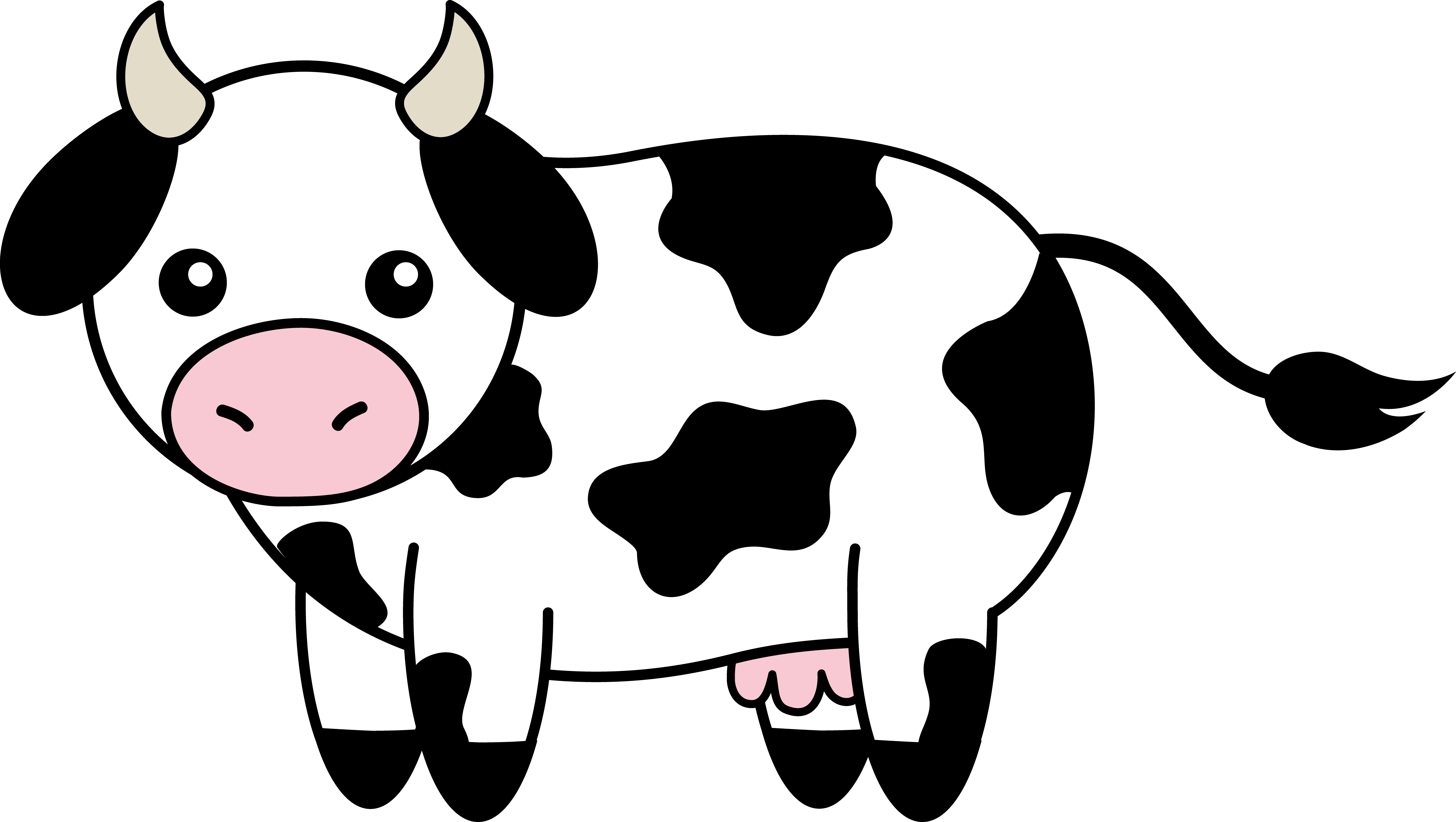 Guinness clipart black and white  Cattle Free Clip Cattle