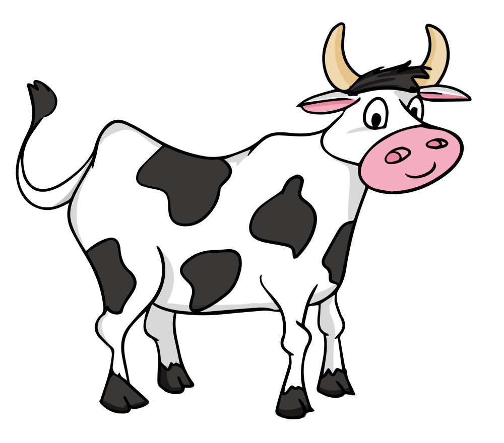Cow clipart Free Art Public Use Domain